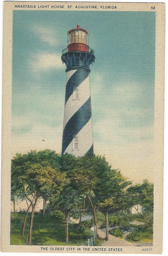 Anastasia Light House, St. Augustine, Florida