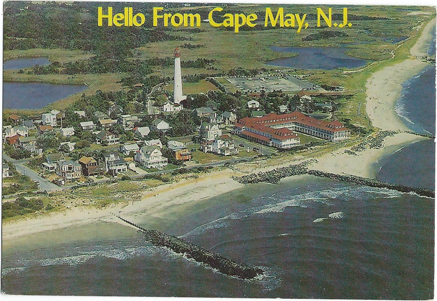 Hello from Cape May, N.J.