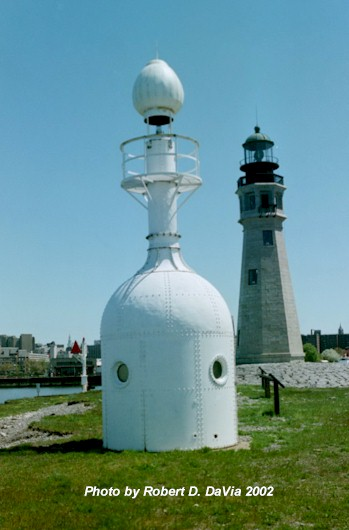 The North Bottle Light and the 1833 Light