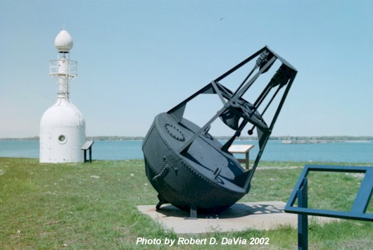 The North Bottle Light and a 1920's era Bell Buoy