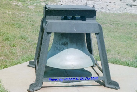 A United States Lighthouse Service Fog Bell 1933