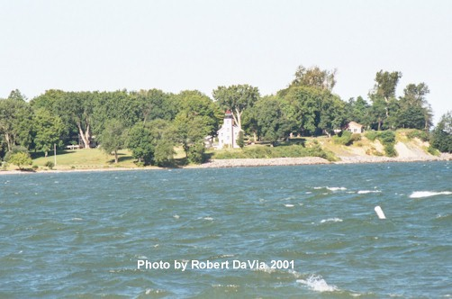 Old Sodus Light from the Outer Light Pier