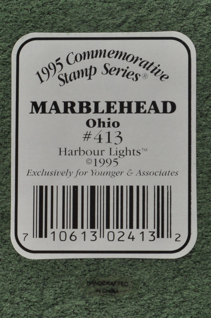 Marblehead, OH Lighthouse HL413 #F147 1995 Harbour Lights® - Click Image to Close