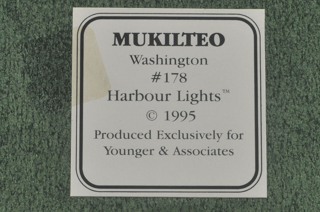 Mukilteo, WA Lighthouse HL178 #4263 1995 Harbour Lights® - Click Image to Close