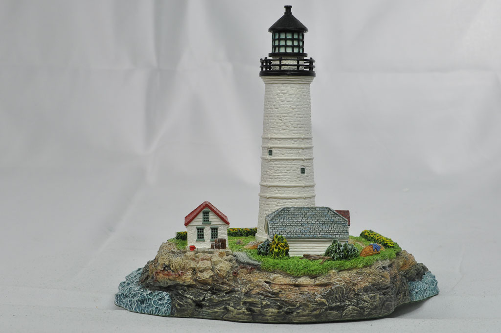 Boston Harbor Lighthouse HL402R A1040 1999 Harbour Lights® - Click Image to Close