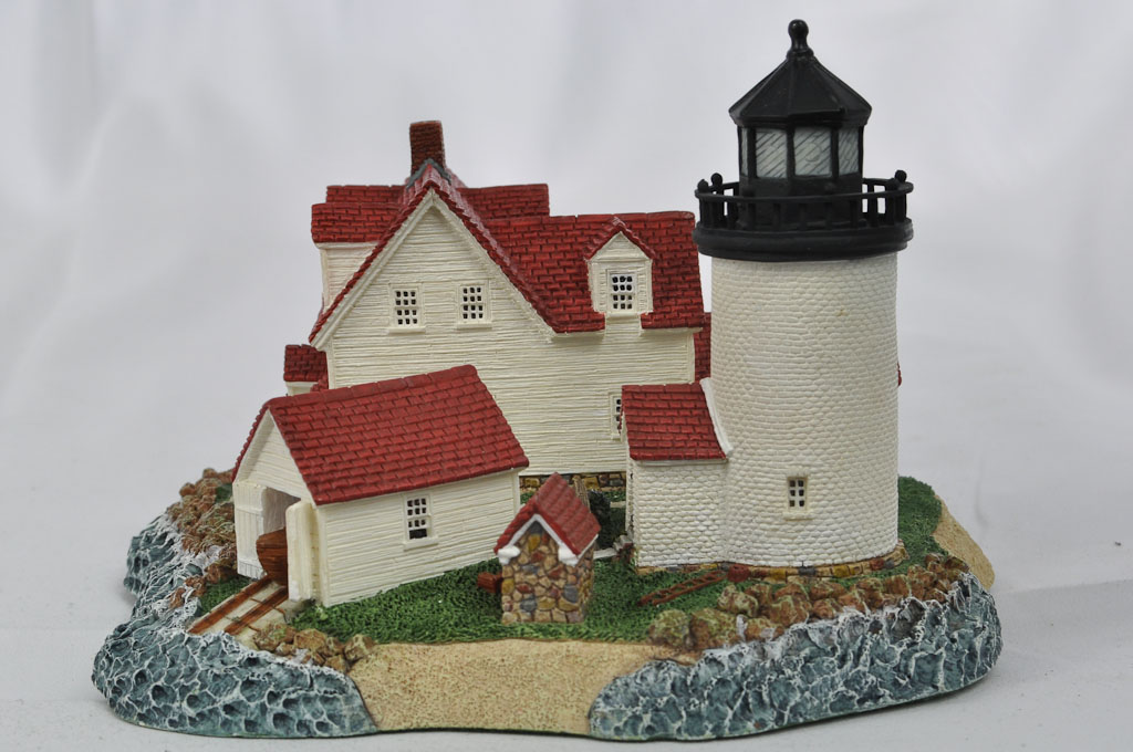 Goat Island, ME HL222 6635/10000 1998 Harbour Lights® - Click Image to Close