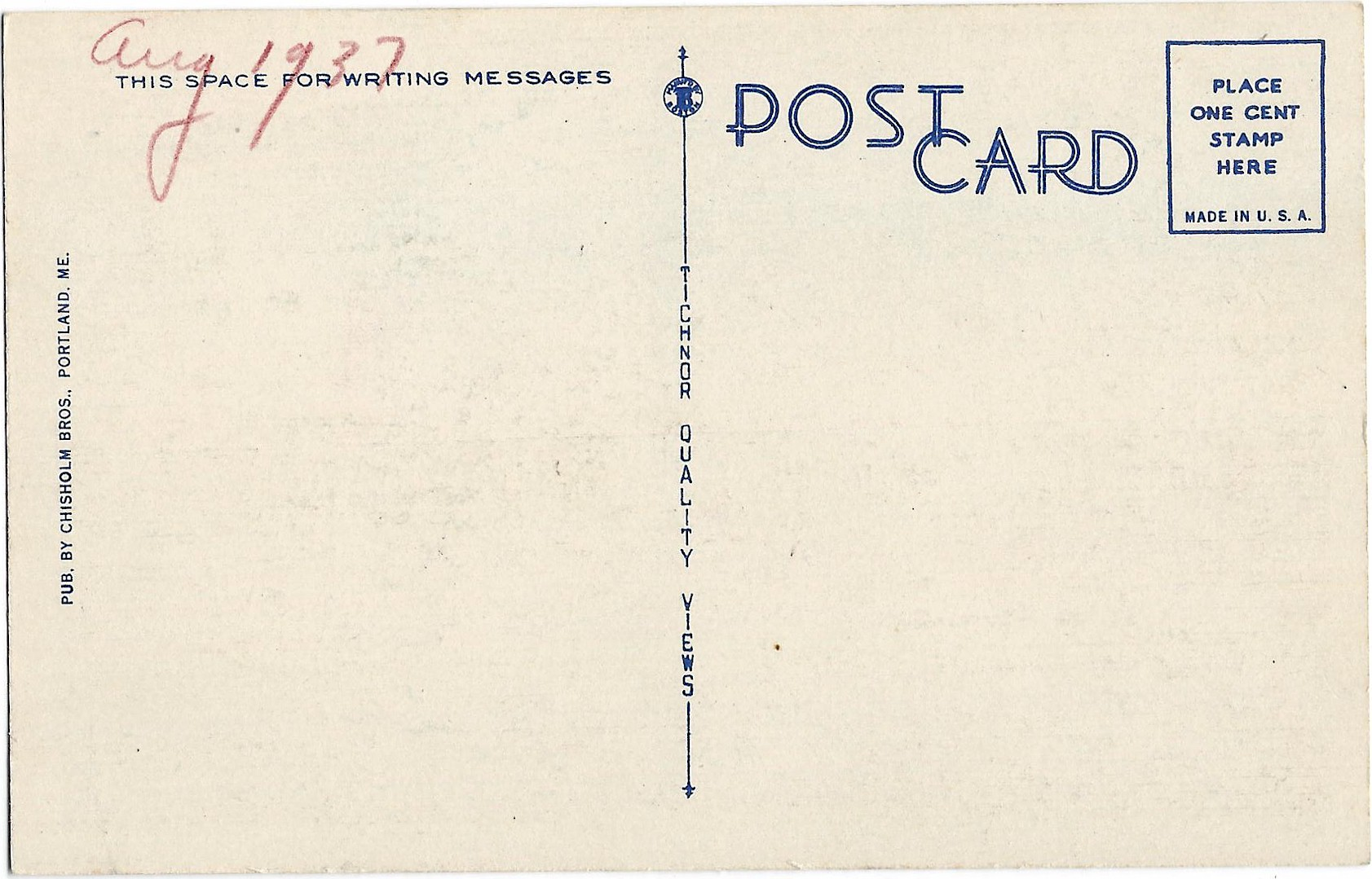TWO LIGHTS & CAPE ELIZABETH LIFE SAVING STATION Postcard 46 - Click Image to Close